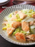 簡単*トロっと鶏むね肉と白菜の中華煮