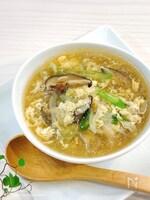 【5分で完成】糖質オフ‼︎ 簡単♡春雨風かきたまスープ