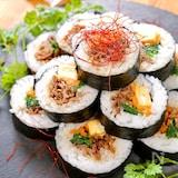 ハレの日に♪簡単☆韓国風海苔巻き『キンパ』