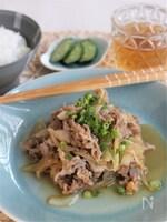 豚肉の新ショウガ炒め、味噌風味