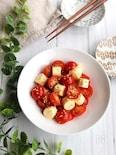 5分で簡単おつまみ*トマトとチーズのうま塩ナムル