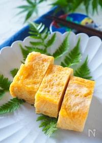 『ピリッと美味しい生姜入り玉子焼き#作り置き#お弁当』