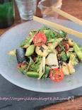 茄子のトリプル旨いサラダ§新鮮な茄子はサラダで!混ぜるだけ