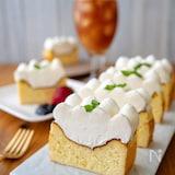パウンド型で作る♪ダブルベイクドチーズケーキ