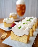 ダブルベイクドチーズケーキ