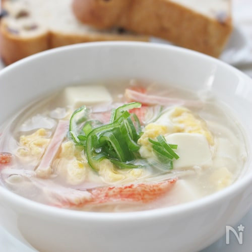 これ一杯で栄養満点スープ