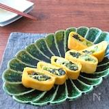 簡単アレンジ卵焼き☆ごはんがすすむ和総菜◎野沢菜の卵焼き
