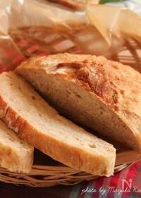 『ストウブ鍋でこねないパン』