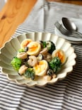 海老とブロッコリーと卵のスイチリマヨサラダ
