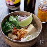 スープから作るチキンフォー【無添加】