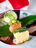 【糖質制限】*おからで作る手まり寿司*