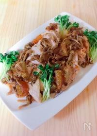 『炊飯器で作る✴︎鶏むね肉と大根・しめじの煮込み』