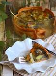 海老とポテトとマッシュルームのゴロゴロパンキッシュ
