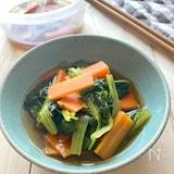 レンジで10分つくりおき【小松菜の煮浸し】