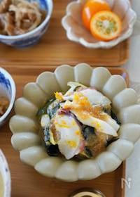 『【覚えておきたい和の副菜】タコ(イカ)と長ねぎの酢味噌和え』