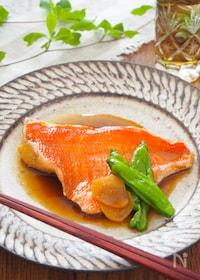 『《保存版》魚好きが教える、本気の金目鯛の煮付け』