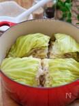 *キャベツと豚バラのミルフィーユ煮*