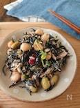 ひじきと豆のツナマヨ和え