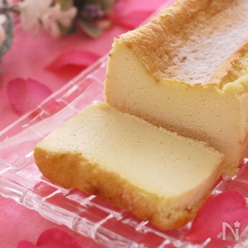 とろける食感*ホワイトチョコのチーズテリーヌ