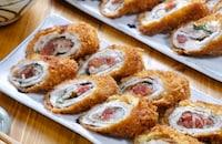 さっぱり食べれる揚げ物レシピ♡『梅しそミルフィーユカツ』