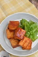 厚揚げ豆腐のケチャップ焼き【作り置き】