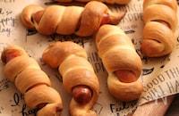 おうちでキャンプ飯!ミニまきまきパン