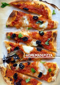 『捏ねない☆我が家の美味しいピザ生地!』