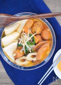『野菜たっぷり!韓国風うま辛チゲおでん』