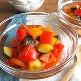旨味たっぷり◎野菜ジュースで簡単ラタトゥイユ