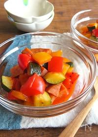 『旨味たっぷり◎野菜ジュースで簡単ラタトゥイユ』