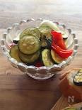 野菜が甘い!ズッキーニとパプリカのスカペーチェ