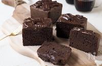 トースターで簡単!チョコパウンドケーキ【型不用】