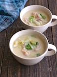 鶏肉と白菜の豆乳味噌シチュー