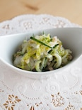 すし酢で簡単☆白菜とカニ缶のサラダ