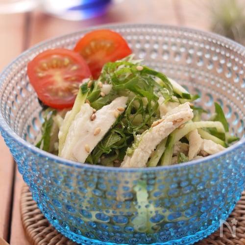 きゅうりと鶏ハムの中華サラダ『作り置き』