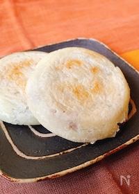 『材料4つ! 簡単☆豆腐de梅ヶ枝餅』