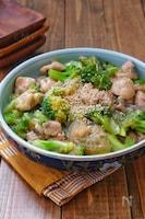 春雨の戻し不要*鶏肉とブロッコリーの春雨煮*