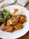 『むね肉で。ガーリック照り焼きチキン』#簡単#お弁当