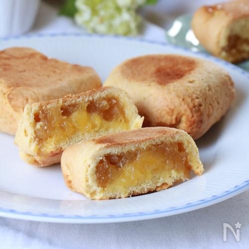 ホットケーキミックスで簡単☆台湾パイナップルケーキ