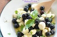 ブルーベリーとモッツァレラチーズのマリネ