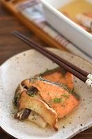 鮭とエリンギのさっぱりマリネ【作り置き】