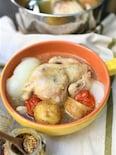 素材のうま味だけ!コトコト煮るひな丸鶏のポトフ