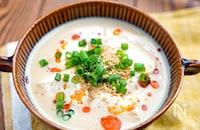【ピリ辛豆乳の坦々風温豆腐】3分で完成♬︎温かいおかず♡