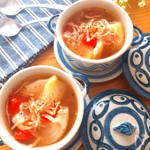 飲まなきゃ損‼️甘〜い新玉ねぎ♡新玉ねぎを楽しむスープ