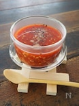 蕎麦の実とトマトジュースの雑炊