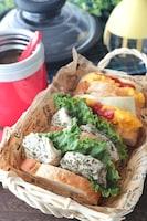 【15分弁当】バケットサンドと野菜スープのピクニック弁当