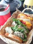 【15分弁当】チキンとスープが一気に完成!ピクニック弁当