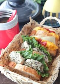 『【15分弁当】チキンとスープが一気に完成!ピクニック弁当』