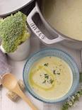 冷製*ブロッコリーのスープ〜茎も活用#節約#ヘルシー