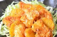 コチュジャンで旨辛!鶏むね肉とジャガイモの韓国風照り焼き